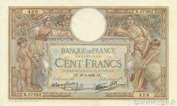 100 Francs LUC OLIVIER MERSON type modifié FRANCE  1938 F.25.09 SUP+