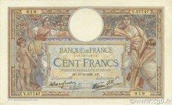 100 Francs LUC OLIVIER MERSON type modifié FRANCE  1938 F.25.11 TTB+