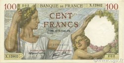100 Francs SULLY FRANCE  1940 F.26.33 SPL+