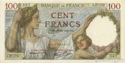 100 Francs SULLY FRANCE  1941 F.26.63 pr.NEUF