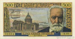 500 Francs VICTOR HUGO FRANCE  1954 F.35.01 SPL+