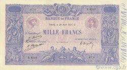 1000 Francs BLEU ET ROSE FRANCE  1926 F.36.42 pr.SUP