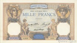 1000 Francs CÉRÈS ET MERCURE FRANCE  1933 F.37.08 SUP+
