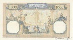 1000 Francs CÉRÈS ET MERCURE type modifié FRANCE  1937 F.38.07 SUP à SPL