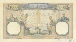 1000 Francs CÉRÈS ET MERCURE type modifié FRANCE  1937 F.38.07 SUP