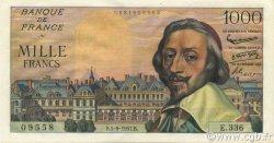 1000 Francs RICHELIEU FRANCE  1957 F.42.26