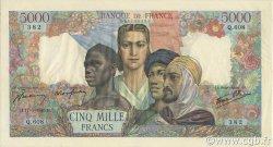 5000 Francs EMPIRE FRANCAIS FRANCE  1945 F.47.26 SUP à SPL