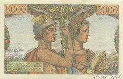 5000 Francs TERRE ET MER FRANCE  1951 F.48.03 TTB à SUP