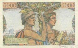 5000 Francs TERRE ET MER FRANCE  1952 F.48.06 SPL
