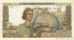 10000 Francs GÉNIE FRANÇAIS FRANCE  1955 F.50.76 SUP à SPL