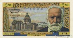 5 Nouveaux Francs VICTOR HUGO FRANCE  1962 F.56.10 pr.NEUF