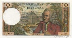 10 Francs VOLTAIRE FRANCE  1971 F.62.53 pr.NEUF
