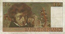 10 Francs BERLIOZ sans signatures FRANCE  1974 F.63bis.02 TB+