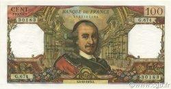 100 Francs CORNEILLE FRANCE  1972 F.65.40