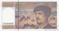 20 Francs DEBUSSY Modifié FRANCE  1997 F.66ter.02a pr.NEUF