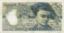 50 Francs QUENTIN DE LA TOUR FRANCE  1985 F.67.11 pr.TTB