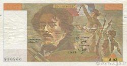 100 Francs DELACROIX modifié FRANCE  1985 F.69.09 pr.TTB