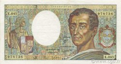 200 Francs MONTESQUIEU FRANCE  1987 F.70.07 TTB