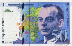50 Francs SAINT-EXUPÉRY FRANCE  1992 F.72.01a NEUF