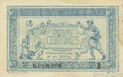 50 Centimes FRANCE  1917 VF.01.04 SPL