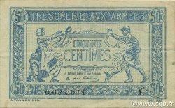 50 Centimes TRÉSORERIE AUX ARMÉES FRANCE  1919 VF.02.08 TTB+