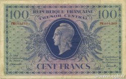 100 Francs MARIANNE FRANCE  1943 VF.06.01e TTB