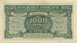 1000 Francs chiffres gras FRANCE  1945 VF.12.01 SUP+