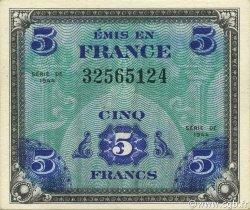 5 Francs DRAPEAU FRANCE  1944 VF.17.01 pr.NEUF