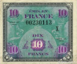 10 Francs DRAPEAU FRANCE  1944 VF.18.02 SUP