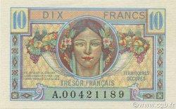 10 Francs TRÉSOR FRANÇAIS FRANCE  1947 VF.30.01 NEUF