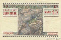 10 Mark SARRE FRANCE  1947 VF.47.01 SUP à SPL