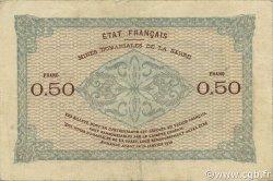 50 Centimes MINES DOMANIALES DE LA SARRE FRANCE  1920 VF.50.01 TTB