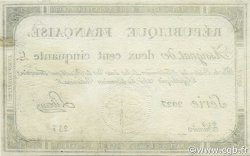 250 Livres FRANCE  1793 Laf.170 SUP+