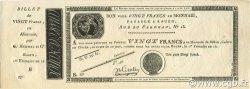 20 Francs FRANCE  1804 Laf.- NEUF