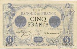 5 Francs NOIR FRANCE  1873 F.01.18 TTB à SUP