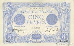 5 Francs BLEU FRANCE  1915 F.02.34 SUP+