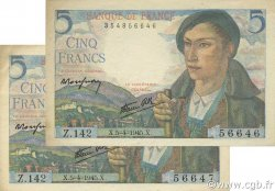 5 Francs BERGER FRANCE  1945 F.05.06 SPL+