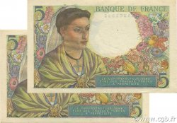 5 Francs BERGER FRANCE  1947 F.05.07 pr.SPL