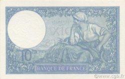 10 Francs MINERVE modifié FRANCE  1939 F.07.11 SPL+