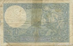 10 Francs MINERVE modifié FRANCE  1942 F.07.31 B à TB