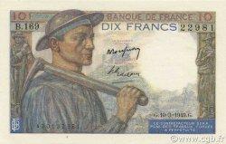 10 Francs MINEUR FRANCE  1949 F.08.20 NEUF