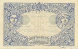 20 Francs NOIR FRANCE  1904 F.09.03 pr.SUP