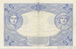 20 Francs BLEU FRANCE  1906 F.10.01 TTB+ à SUP