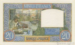 20 Francs SCIENCE ET TRAVAIL FRANCE  1941 F.12.17 pr.NEUF