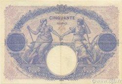 50 Francs BLEU ET ROSE FRANCE  1926 F.14.39 pr.SUP