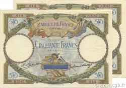 50 Francs LUC OLIVIER MERSON FRANCE  1929 F.15.03 pr.SUP