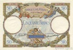 50 Francs LUC OLIVIER MERSON type modifié FRANCE  1930 F.16.01 pr.SPL