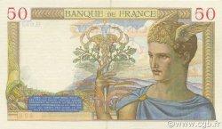 50 Francs CÉRÈS FRANCE  1937 F.17.40 SUP