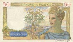 50 Francs CÉRÈS modifié FRANCE  1939 F.18.20 SUP