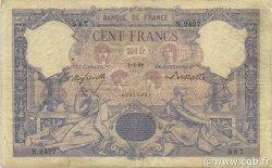 100 Francs ROSE ET BLEU FRANCE  1898 F.21.11 B+
